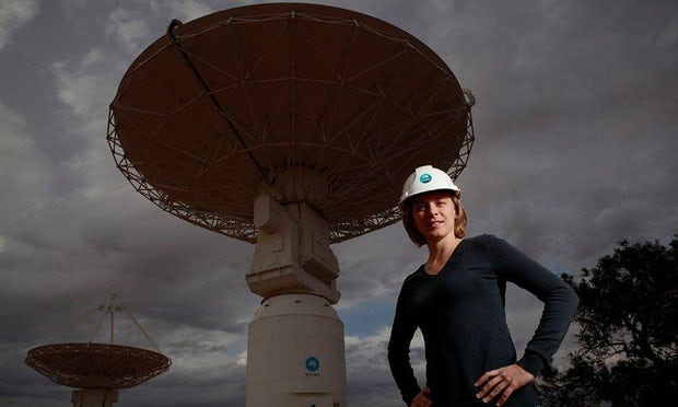 Lisa Harvey-Smith. CSIRO.