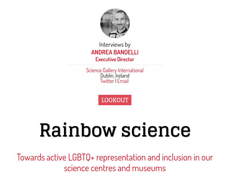 """""""Rainbow science"""", en la revista SPOKES #32"""