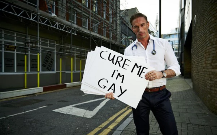 Undercover Doctor: Cure me, I'm gay