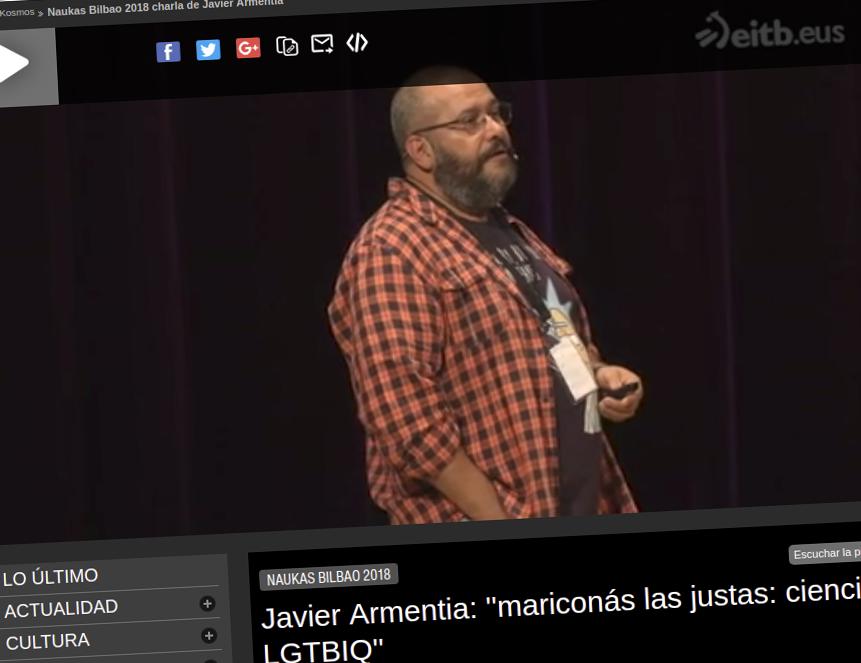 Javier armentia homosexual